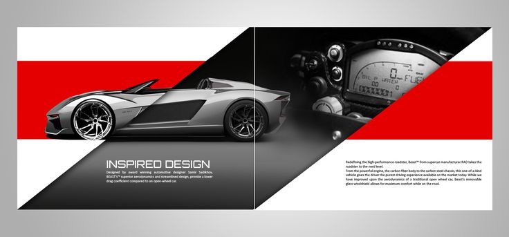 Modern, Masculine Catalogue Design for Rezvani Motors by art ...