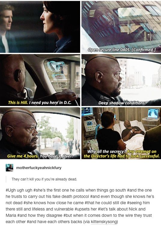 nick fury marvel mcu avengers maria hill