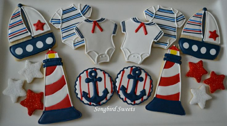 Nautical Cookie Collection