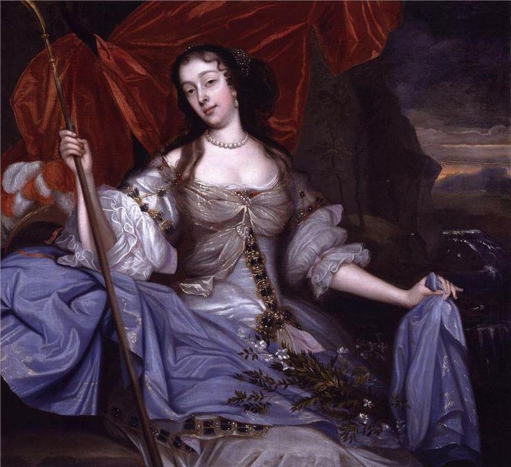 ЧАСТЬ 7. Династия Стюартов.1660-1685. Карл II (Charles II) Люси Уолтер,Барбара Вильерс, она же Барбара Палмер, она же графиня Кестлмэйн, она же герцогиня Кливленд -любовница Карла II и мать Джеймс Скотт. Однако от законного брака с Екатериной Брагансской, он потомства не оставил, и после смерти короля на престол вступил его брат, герцог Йоркский, ставший Яковом II.