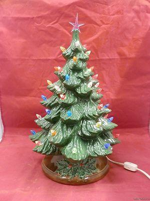 113 best Ceramic Christmas tree images on Pinterest   Ceramic ...