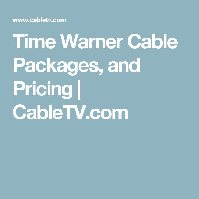 Find the best Time Warner Cable TV, High Speed Internet & Digital Phone Bundles online now! Many of the Spectrum Package Deals found on this site are only available for new business and residential customers (subscribers).