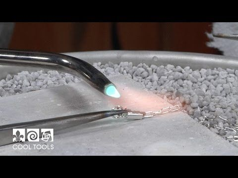Soldering Jump Rings & Chain to End Caps by Terri McCarthy   Cool Tools