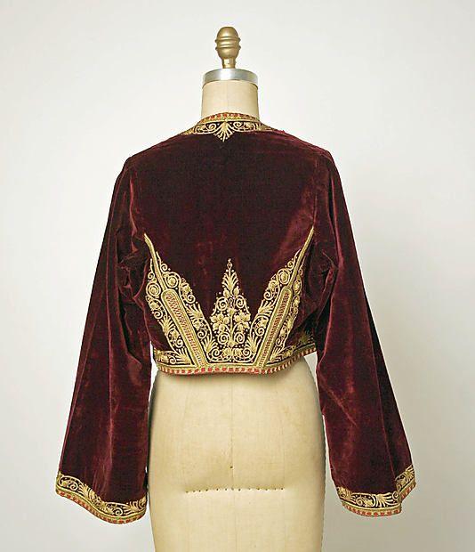 Turkish jacket, 20th century