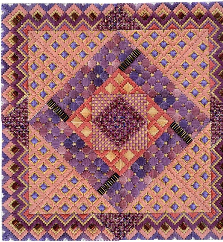 Terry Dryden Needlework Designs - Color Texture Stitch