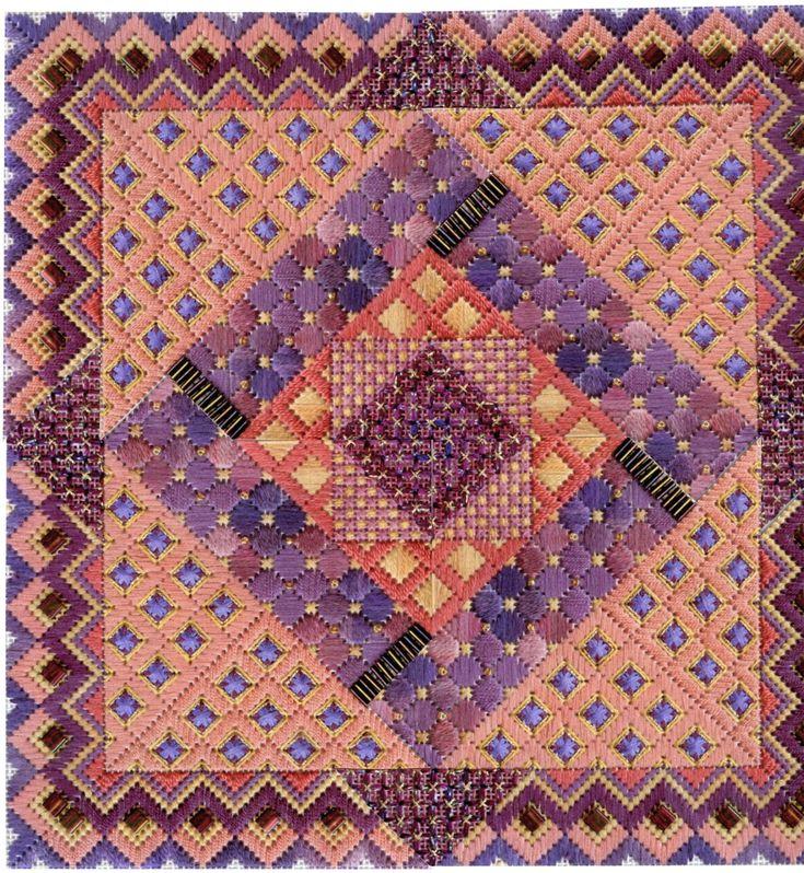Terry Dryden Needlework Designs - Color Texture Stitch