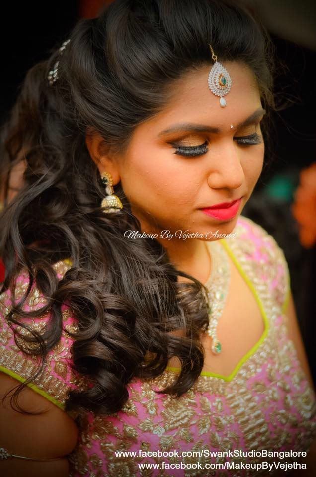 17 Best images about Bridal Hair Dos on Pinterest | Hindus, Hairstyles and Indian weddings
