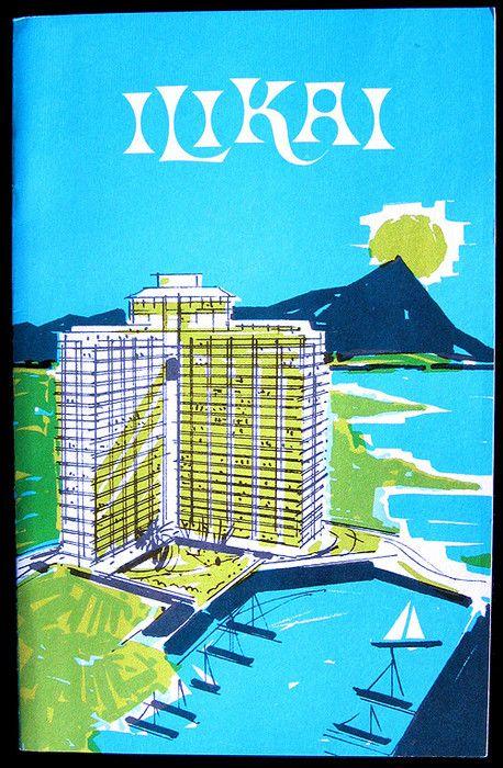 hotel amenities booklet from Ilikai Hotel - Honolulu, HI