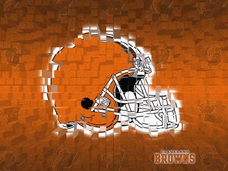 Cleveland Browns 3D Wallpaper