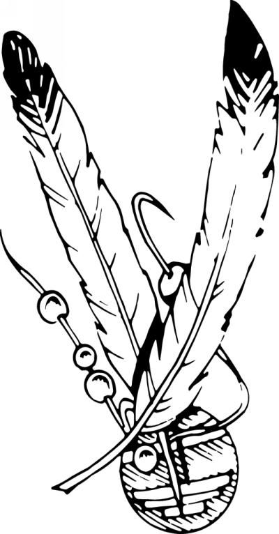 free feathers coloring pages - photo#10