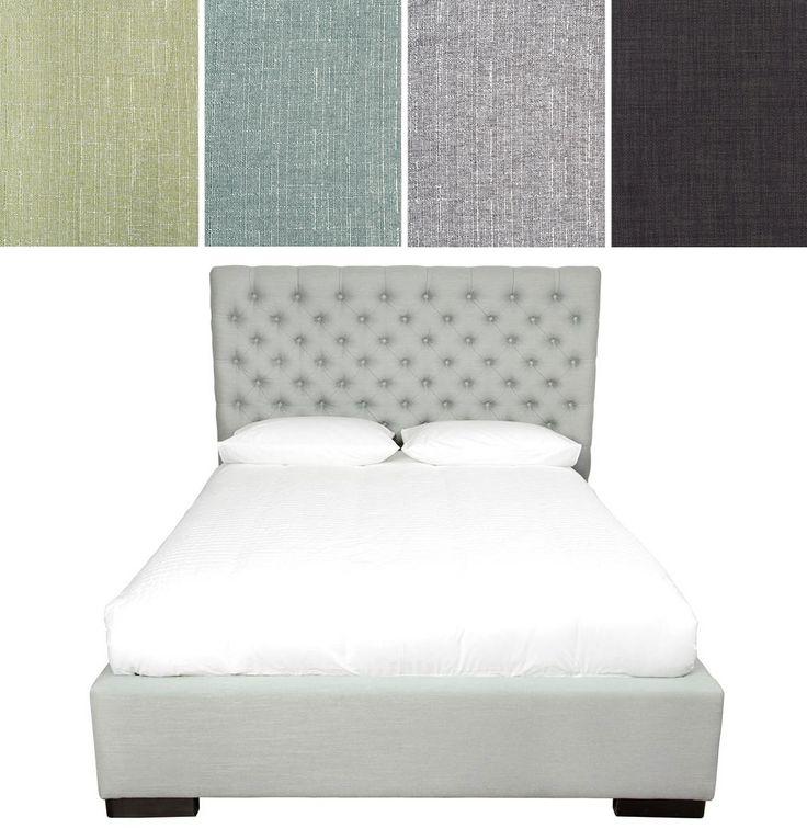 Van Gogh Design - Upholstered bed - Lit rembourré  Quelques tissus tendances!  www.meubleslinton.com