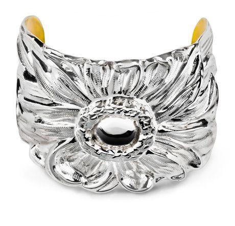 American Estate Jewelry - The American Daisy CuffCuffs Bracelets, Galmer Repoussé, Repousse Jewelry, Sterling Silver, Repoussé Jewelry, Silver Jewelry, Cuff Bracelets, Daisies Cuffs, Silver Cuffs