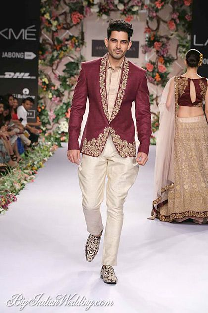 Shyamal & Bhumika men's collection 2014