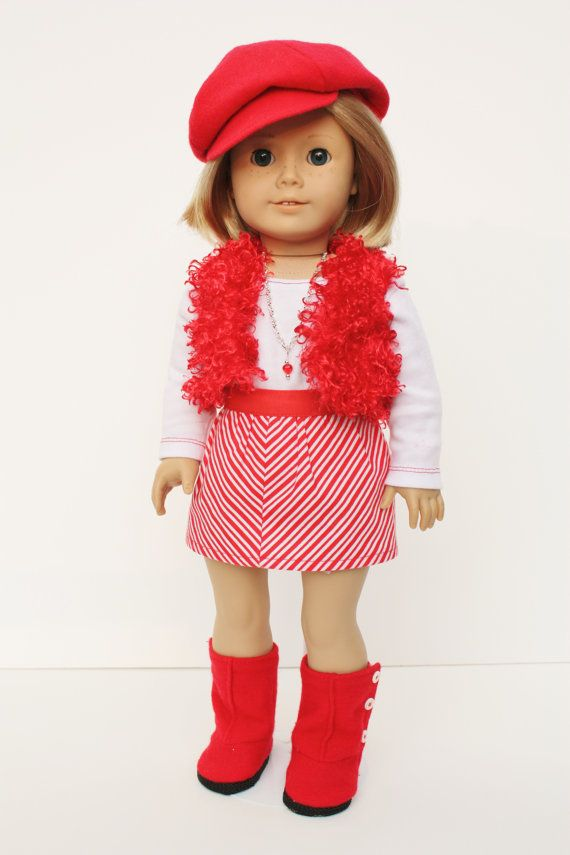 American Girl Doll Clothes and Accessories - Peppermint Twist on Etsy, $50.00