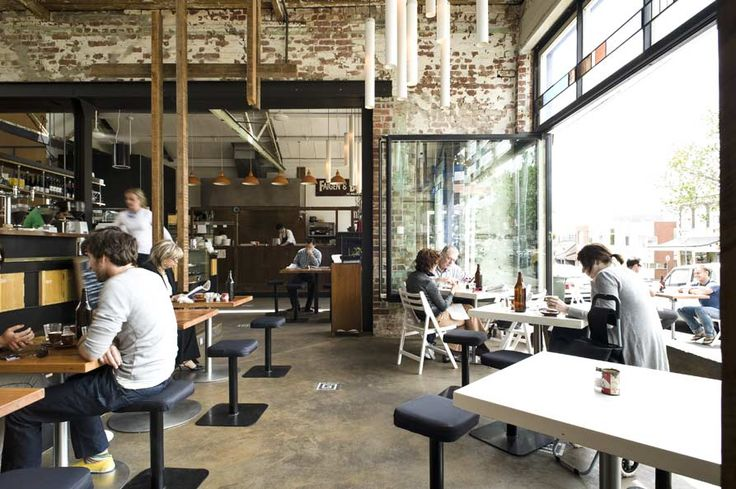 Auction Rooms, North Melbourne. I'd have to say this place wins vote for Melbourne's best cafe. Unique breakfast menu and exceptional coffee.