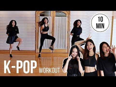 KPOP Cardio Workout! BTS (Mic Drop), Blackpink (Boombayah), Big Bang