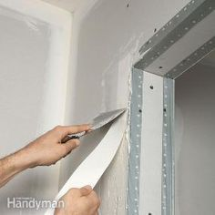 Drywall Taping Tips from The Family Handyman