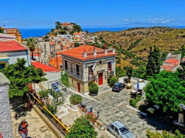 GREECE CHANNEL   Kea (Tzia) island, Chora
