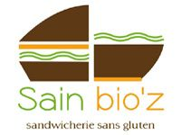 Sain bio'z - Sandwicherie sans gluten à Paris. Sain bio'z, hamburgers, bagels, pastas and more without gluten! I have heard very good things about their brownies from my gluten-eating friends living at Gare de Lyon.