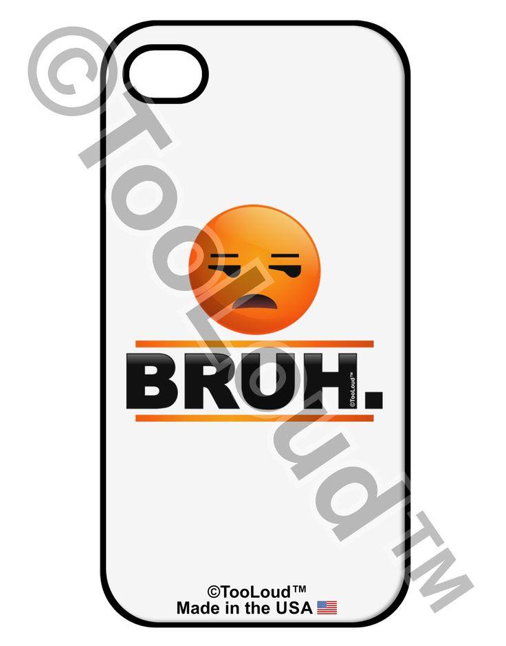 Bruh Emoji iPhone 4 / 4S Case