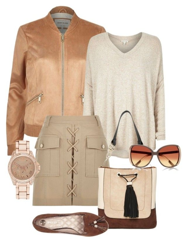 """""""river island"""" by bars912 ❤ liked on Polyvore featuring River Island, women's clothing, women, female, woman, misses and juniors"""