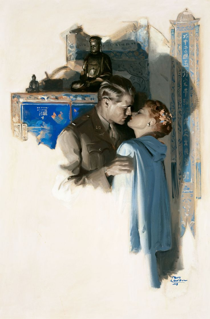 'The Kiss' Tom Lovell