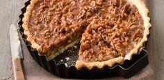 Recepty: Karamelový koláč s vlašskými ořechy