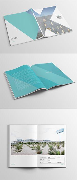 Architecture brochure for ACXT  by Muak Studio #editorial #design #graphic…