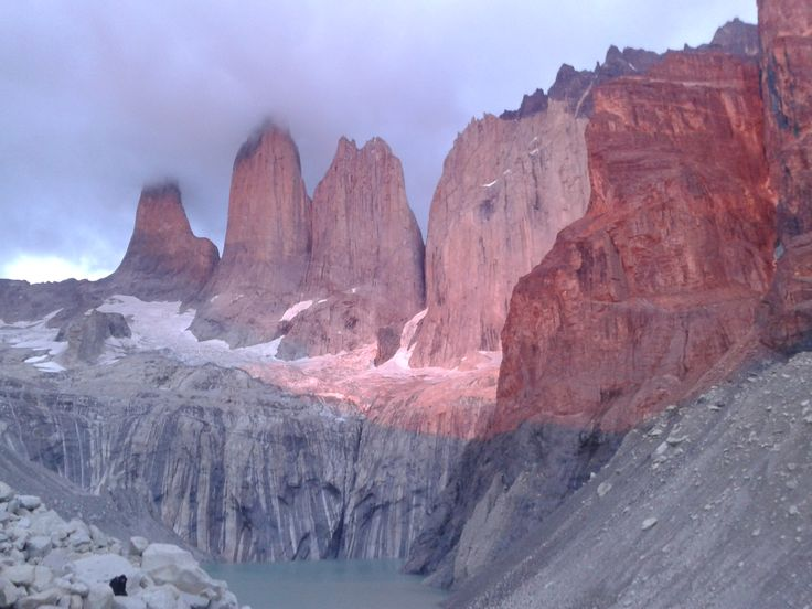Chile, park narodowy-Torres del Paine