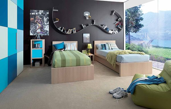 Kids Bedroom Design Ideas And Pictures By Dear Kids | Pictures, Design And  Italy.