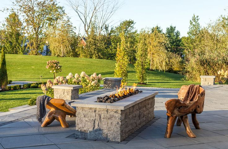 28 best Design Ideas for Outdoor Fireplaces & Fire Pits - Boston, MA ...