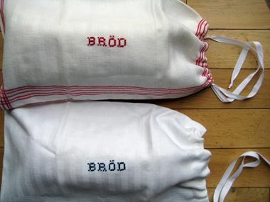 swedish bread bag.