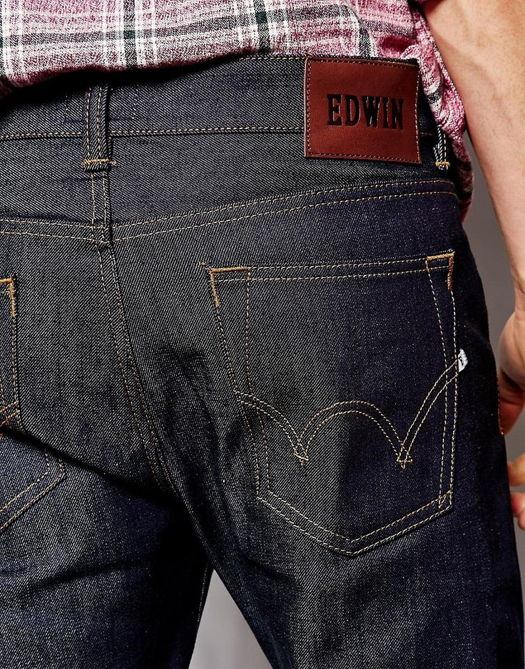Image 3 ofEdwin Jeans ED-80 Slim Tapered Fit Compact Indigo Unwashed
