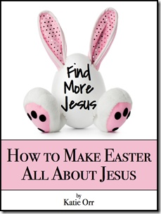 Ideas to help your kids remember that Easter is about Jesus