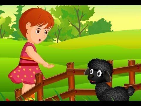 ▶ Baa Baa Black Sheep | Children Rhymes Nursery Songs  - YouTube