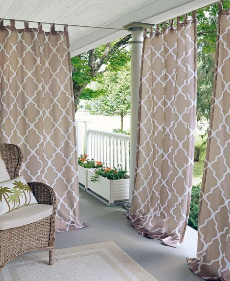 Nice neutral colored curtain - living room or play room?