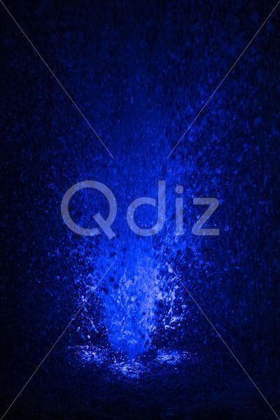 Qdiz Stock Photos | Colorful fountain splashes blue color,  #abstract #aqua #art #backdrop #background #black #blob #blue #bright #bubble #burst #celebrate #celebration #color #colorful #decorative #design #drib #drip #drop #droplet #effect #energy #entertainment #explosion #fall #flow #fountain #illumination #light #liquid #magic #moist #motion #party #performance #ripple #spatter #splash #sprinkle #sprinkling #spritz #stream #water #waterfall #wet