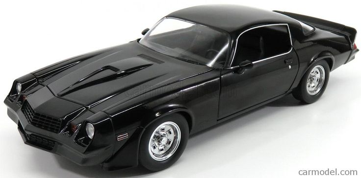 GREENLIGHT 13501 Scale 1/18  CHEVROLET CAMARO COUPE 1987 - BEVERLY HILLS COP II MOVIE BLACK