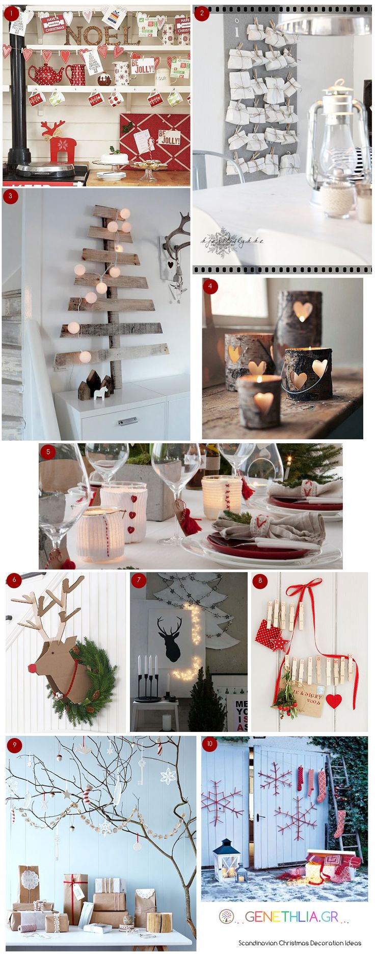 Scandinavian Christmas Decoration!