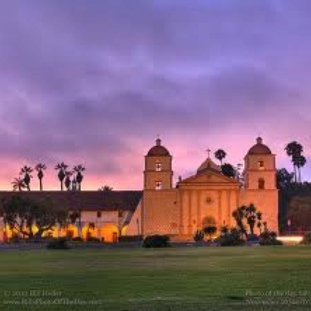 Santa Barbara Mission, Santa Barbara, CA