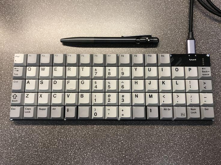 hadron low profile keyboard cherry ml switches arduino