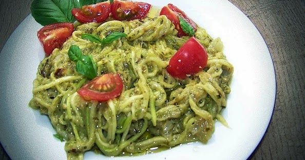 martaprobuje.blogspot.com Zoodles czyli spagetti z cukinii z bazyliowym pesto http://ift.tt/2p3FtOK