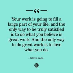 Inspirational quotes. Steve Jobs