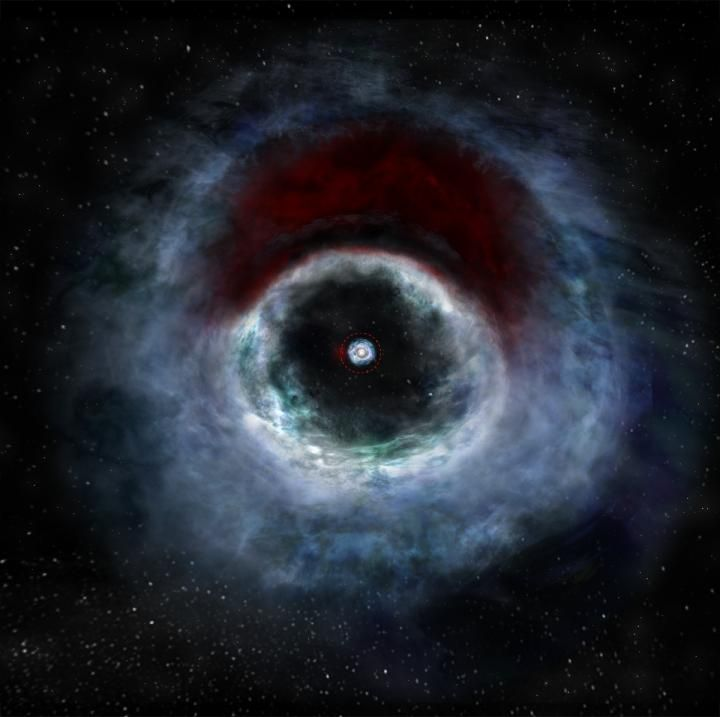 """Crescent-Shaped Planet-Forming Cloud --""""The Result of Gravitational Forces Unique to Binary Stars?"""""""