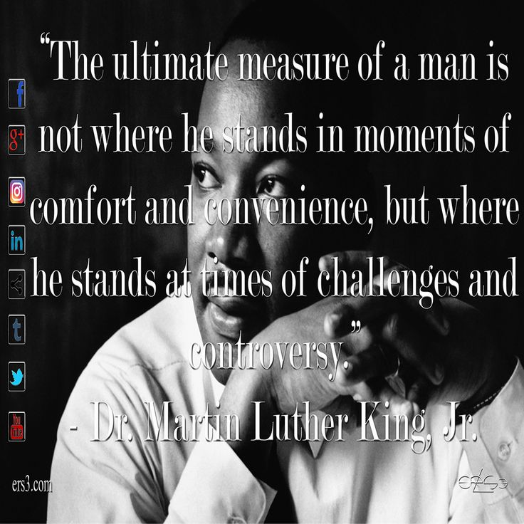 33+ The measure of a man book martin luther king information