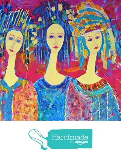 Three Angels Painting Angel Print Abstract Pink CANVAS 28x34 from SmartPolonia https://www.amazon.com/dp/B01JOQ1RQ6/ref=hnd_sw_r_pi_dp_6I6xzbQVEB6EH #handmadeatamazon