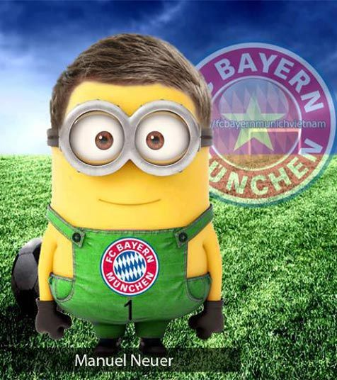 Bola.net: Yellow Fever: Virus Minions Pun Menjangkiti Sepakbola (Part 2) - Manuel Neuer