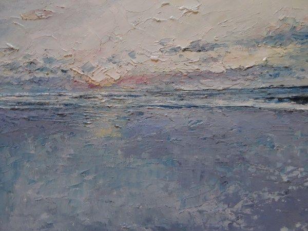 'Summer Sunset, Elly Bay' www.niamhslack.com