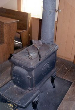 old franklin stoves - this is the  much like the one we found for the cabin!