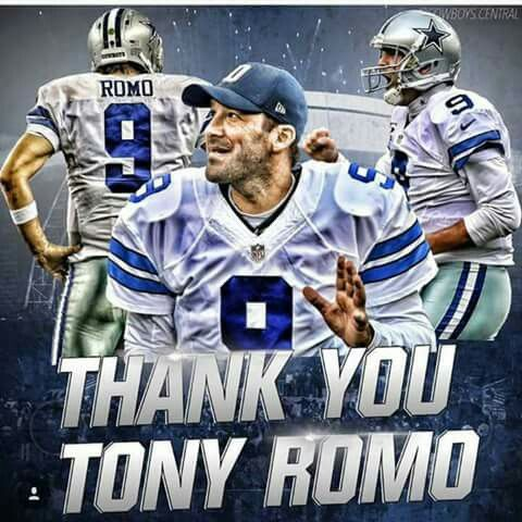 You did your best Romo! No matter what anyone says, you were a great quarterback to the cowboys. I will always have your jersey
